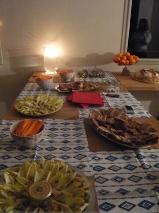 Menu bio et un peu plus local pour un buffet de r veillon - Idee buffet reveillon nouvel an ...